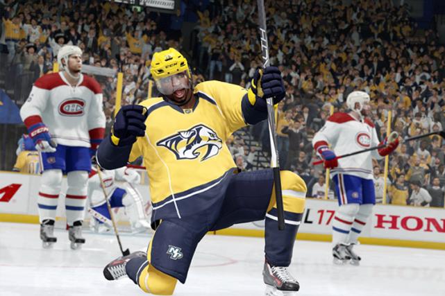 Selon une simulation du jeu vidéoNHL 17d'EA Sports,...