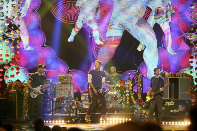Coldplay... (AP, Matt Sayles)