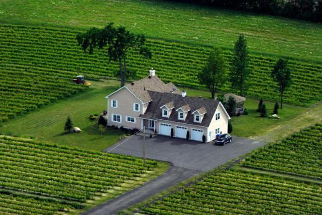 L'acheteur consciencieux qui convoite une propriété en zone... (Photo Bernard Brault, Archives La Presse)