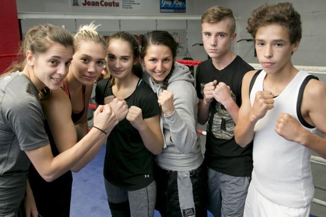 Le Club de boxe de Sherbrooke (CBS) aura... (Spectre Média, René Marquis)