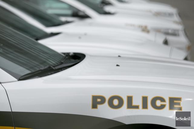 Les policiers de la Sûreté du Québec sont... (Photothèque Le Soleil)