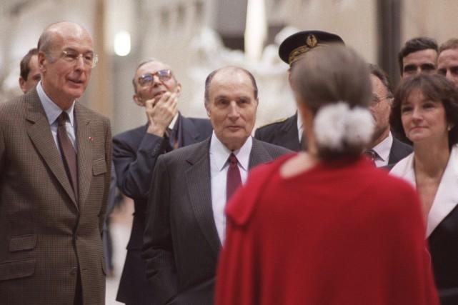 La relation entre François Mitterrand (que l'on voit... (AFP, DERRICK CEYRAC)