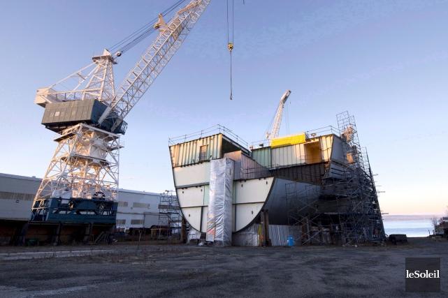 Chantier Davie Canada est devenule premier constructeur de... (Photothèque Le Soleil)