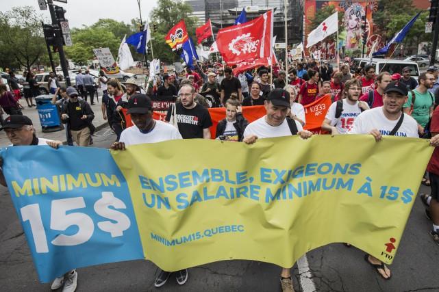 Le 7 octobre est la Journée mondiale pour le travail décent. À cette occasion,... (Archives, La Presse)