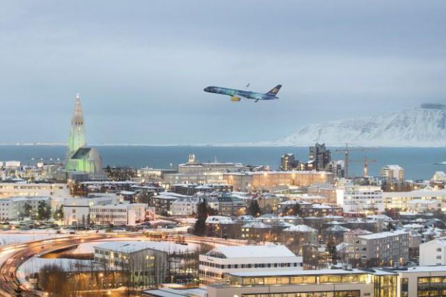 Depuis quelques mois, Icelandair et Wow offrent un... (Icelandair, AP)