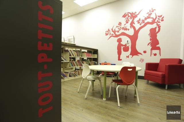 L'inauguration de la nouvelle bibliothèque de Rougemont avait... (Archives La Voix de l'Est)
