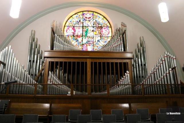 L'orgue aura besoin de travaux dans un futur... (Audrey Tremblay, Le Nouvelliste)