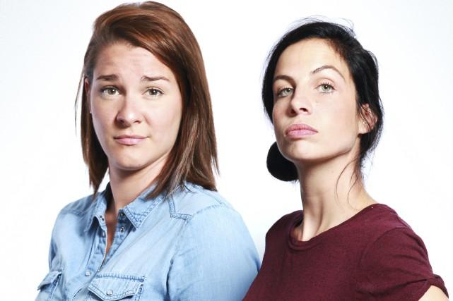 Ève Côté et Marie-Lyne Joncas forment le duo... (Photo fournie)