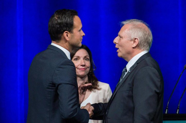 La course à la chefferie du PQ.... (Archives La Presse Canadienne)