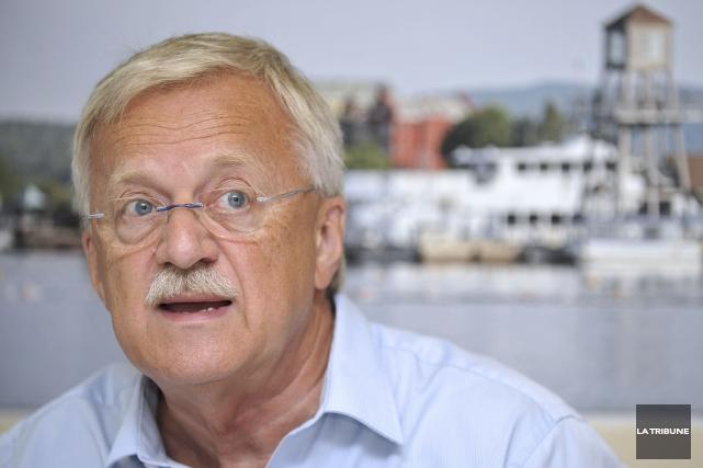 Pierre Reid, député d'Orford... (Photothèque La Tribune)