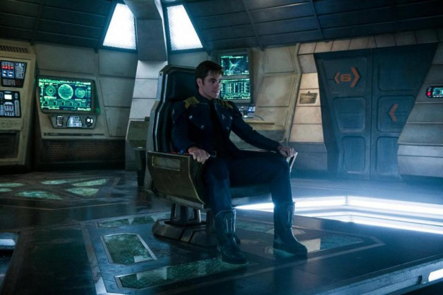 Chris Pine dans Star Trek Beyond de Justin... (Photo fournie par Paramount Pictures)