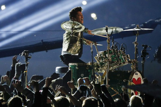 Bruno Mars... (PHOTO ARCHIVES AP)