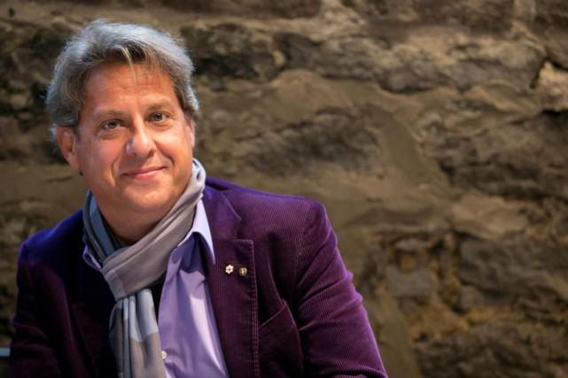 Sas Agapoest le 6ealbum de compositions pianistiques d'Alain... (Photo François Roy, La Presse)