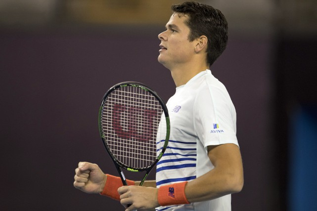Milos Raonic... (Photo Ng Han Guan, AP)