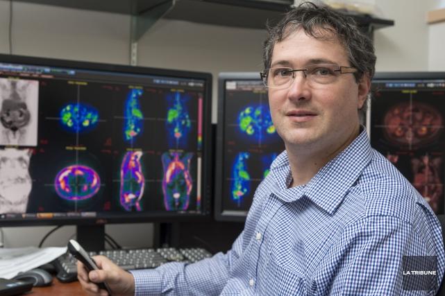 Depuis 15ans au Centre d'imagerie moléculaire de Sherbrooke,... (La Tribune, Frédéric Côté)