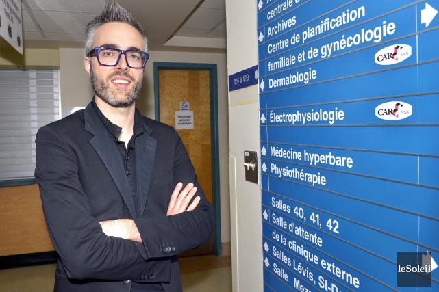 Le Dr Pierre-Luc Dion est le seul dermatologue... (Le Soleil, Jean-Marie Villeneuve)