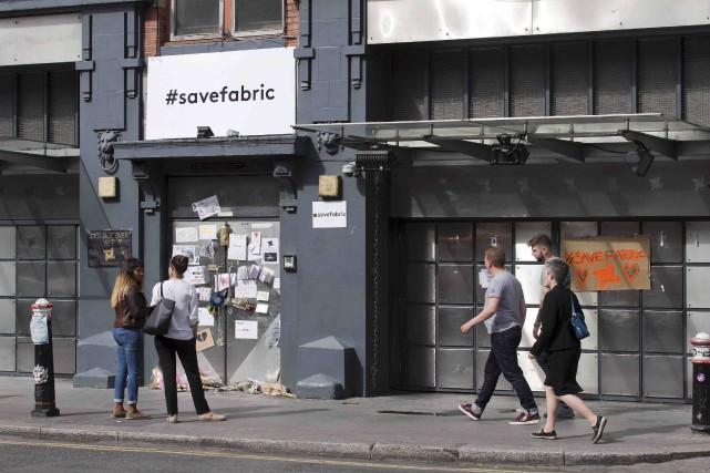 La Fabric a été fermée par la municipalitéaprès... (AFP, Justin Tallis)