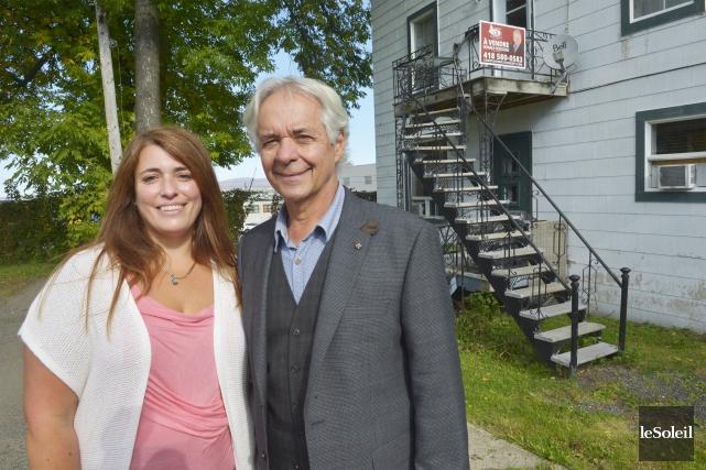 Gilles et Maude Julien forment un duo père-fille... (Le Soleil, Jean-Marie Villeneuv)