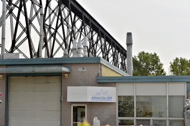 L'usine a fait l'objet de plusieurs plaintes depuis... (Photothèque Le Soleil, Pascal Ratthé)
