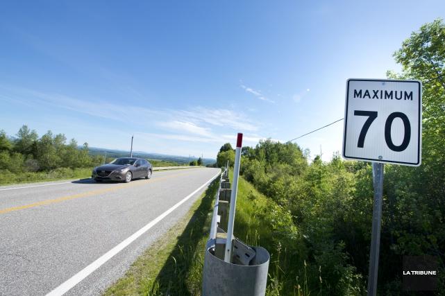 Les nouvelles limites de vitesse qui seront bientôt... (Archives, La Tribune)