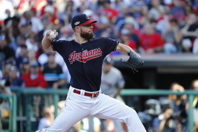 Corey Kluber... (PHOTO Rick Osentoski, USA Today Sports)