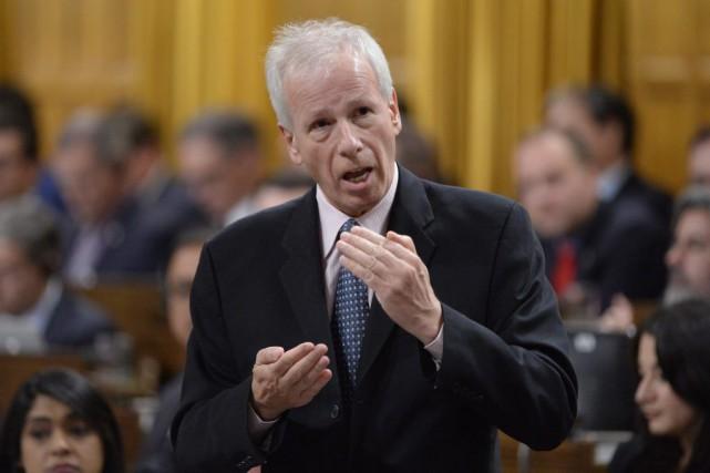 Le ministre des Affaires étrangères, Stéphane Dion, a... (Adrian Wyld, Archives La Presse canadienne)