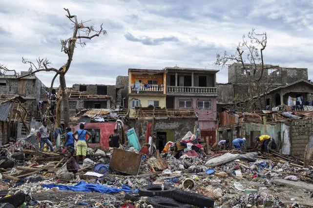 L'ouragan Matthew a décimé la région de Jérémie,... (AFP)