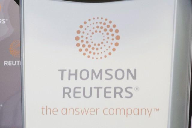 La société Thomson Reuters a annoncé vendredi la création de 400 emplois au... (La Presse canadienne)