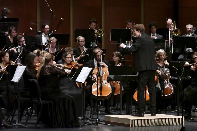 L'Orchestre symphonique de Trois-Rivières accueillait le jeune virtuose... (Stéphane Lessard)