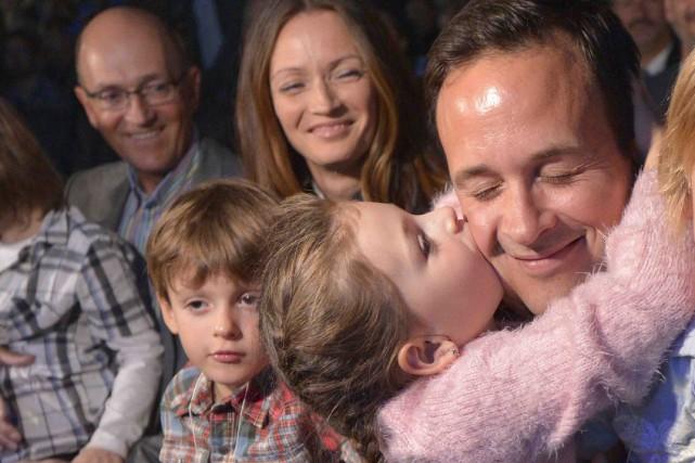 Alexandre Cloutier et sa famille... (Le Soleil, Yan Doublet)