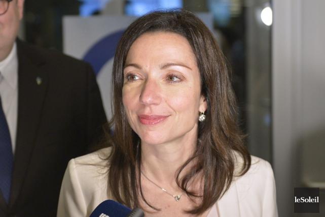 La députée péquiste de Vachon, Martine Ouellet, a... (Photothèque Le Soleil, Yan Doublet)