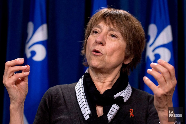 Commentant son «geste de protestation», Françoise David avait... (Archives, La Presse canadienne)