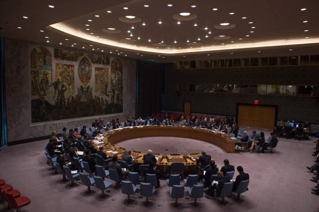 Neuf des 15 pays membres du Conseil de... (PHOTO ARCHIVES AFP)