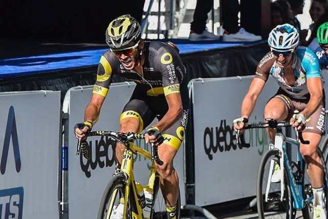 Le cycliste natif de Chicoutimi, Antoine Duchesne (photo),... (Photo tirée de Facebook)