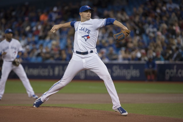 Le droitier des Blue Jays Aaron Sanchez obtiendra... (Photo Nick Turchiaro, USA TODAY)