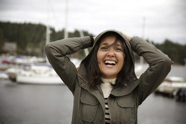 Sophie Fouron anime Chacun son île à TV5.... (Fournie par TV5)