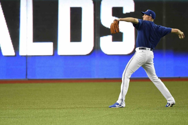 Le lanceur Aaron Sanchez et les Blue Jays... (La Presse canadienne, Jon Blacker)