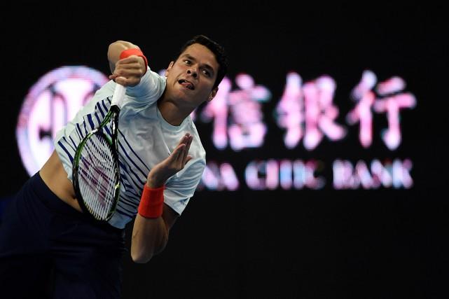 Milos Raonic en sera àsa deuxième participation auMasters.... (PHOTO FRED DUFOUR, AFP)