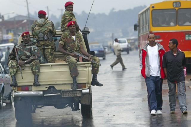 L'Éthiopie est actuellement en proie à un mouvement... (PHOTO Karel Prinsloo, archives AP)