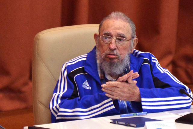 Fidel Castro... (PHOTO AFP)