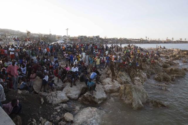 C'est en Haïti où l'ouragan a été le... (AP, Dieu Nalio Chery)