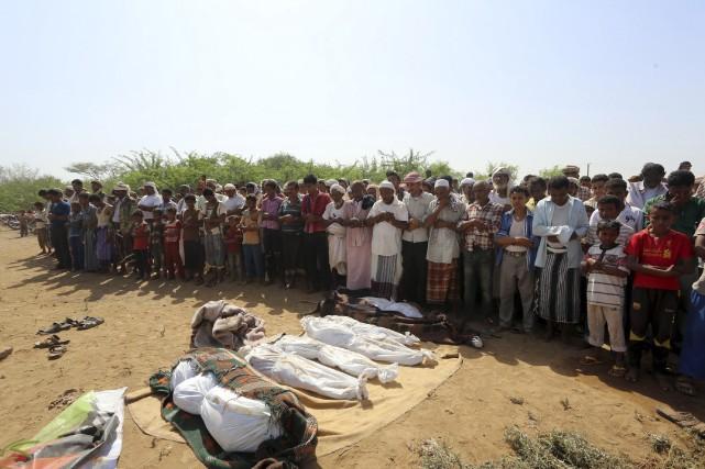 Le bombardement le plus meurtrier depuis le début... (AFP)