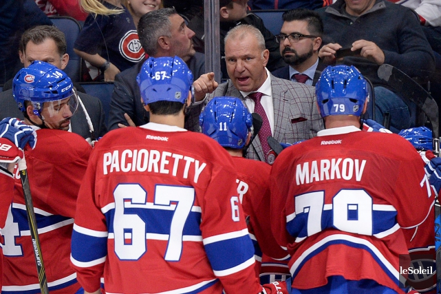 Dans son évaluation du camp, Michel Therrien dit... (Photo Yan Doublet, Le Soleil)