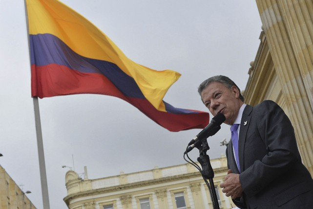 Le Nobel de la paix a été décerné... (AFP, Juan David Tena)