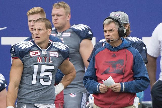 Les Alouettes (4-9) ont signé une victoire de... (Photo La Presse Canadienne)
