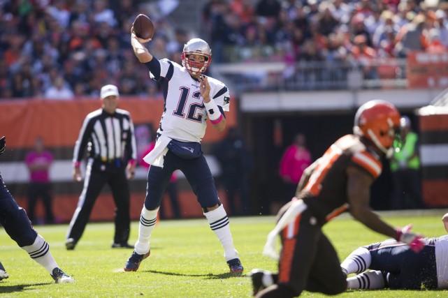 Brady avait été sanctionné après qu'une enquête de... (Photo USA Today Sports)