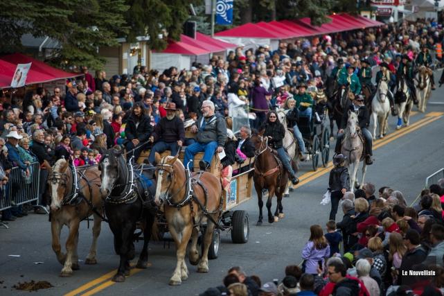 Le défilé est l'événement le plus populaire du... (Olivier Croteau, Le Nouvelliste)