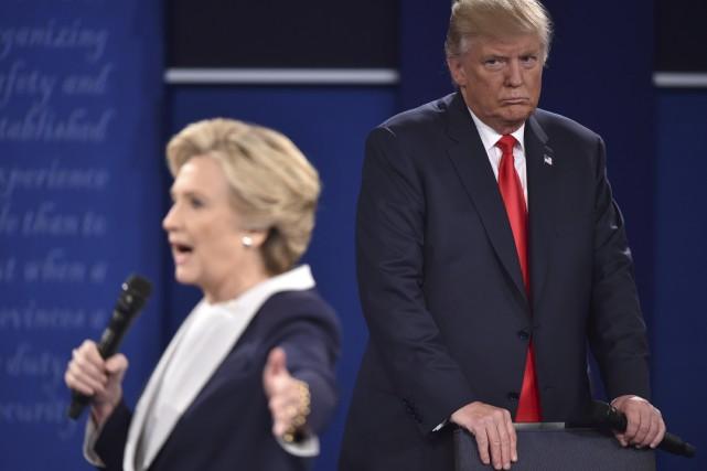 Les deux candidats à la présidentielle américaine se... (AFP)