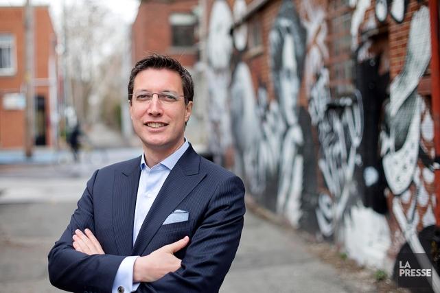 Le conseiller municipal Guillaume Lavoie.... (PHOTO ALAIN ROBERGE, LA PRESSE)