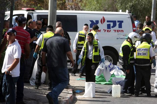 L'attaque de dimanche (photo) renforce la crainte d'un... (MENAHEM KAHANA, AFP)